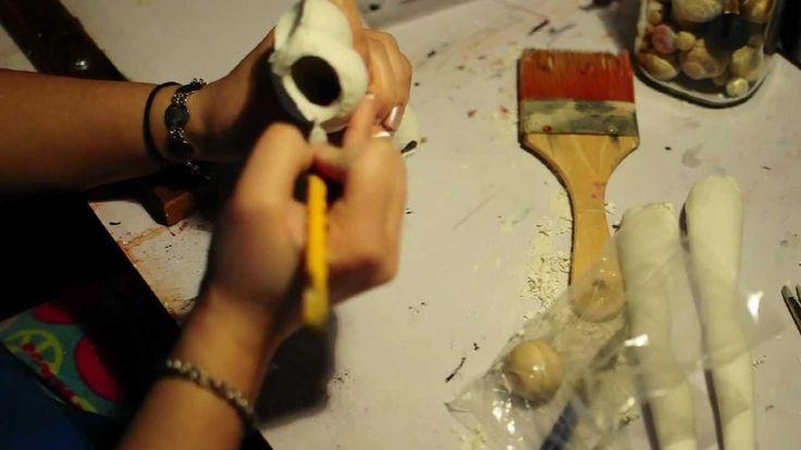 ***BJD sculpting vlog part 11D*** Hip sockets