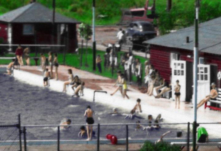 Outdoor Pool 1970's