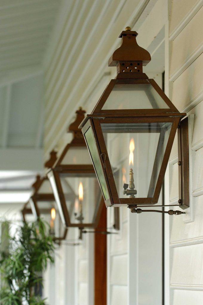 The Tradd Street Wall Mount Carolina Lanterns Porch Lighting Gas Lights Gas Lanterns
