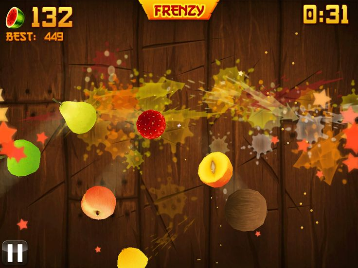 """Crazily addictive game from Half Brick...if you haven't got it, get it...NOW! """"Fruit Ninja"""""""