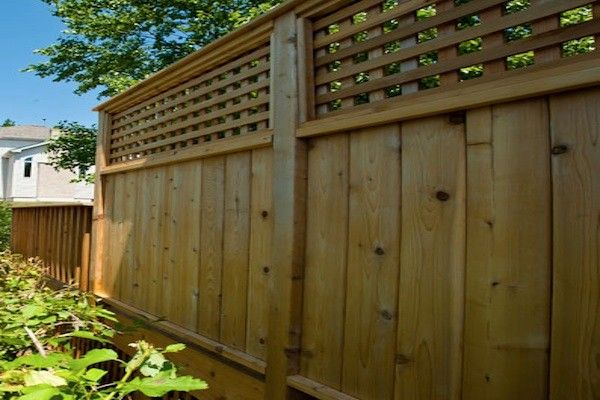 Cedar Deck Privacy Wall In Mchenry County Built By Rock