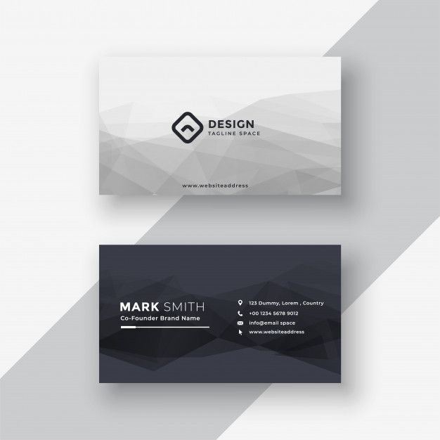 Download Abstract Black And White Business Card For Free Business Card Design Black Simple Business Cards Graphic Design Business Card
