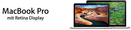 MacBookPro mit Retina Display