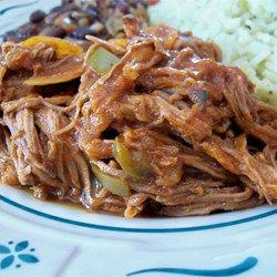 Kubanische Ropa Vieja aus dem Slow Cooker