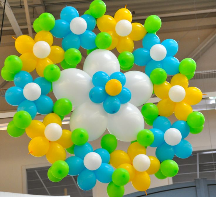 Balloon Flower Wall Decoration : Best images about balloon decor ideas on