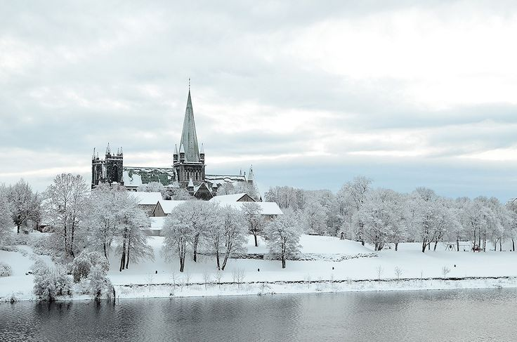 Winter in Trondheim, Norway: My father, Hans Gudbrand, attended the technical institute here in Trondheim in the early 1920s. The degree he earned as a chemical engineer was equivalent to a master's degree from M.I.T. in the USA, according to someone at Esso Research Center where H.G. eventually worked.