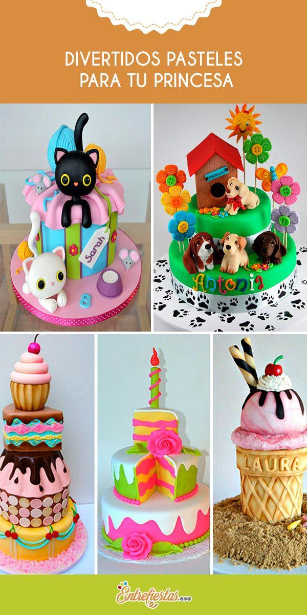 Se acerca el cumpleaños de tu princesa y te encuentras en la búsqueda del pastel ideal, si aún no lo hallas te presentaremos algunas deliciosas opciones que te encantarán ya que son hermosos, divertidos y muy femeninos. Sin duda a tu hija le fascinarán y lucirás un magnífico pastel en su celebración.