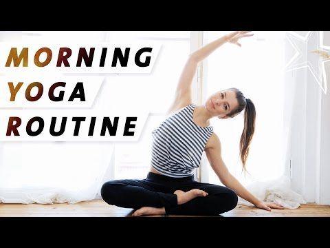 Sonnengruss Yoga Morgen Routine | Mit 11 Minuten in den Tag starten | Einfach Mitmachen! - YouTube