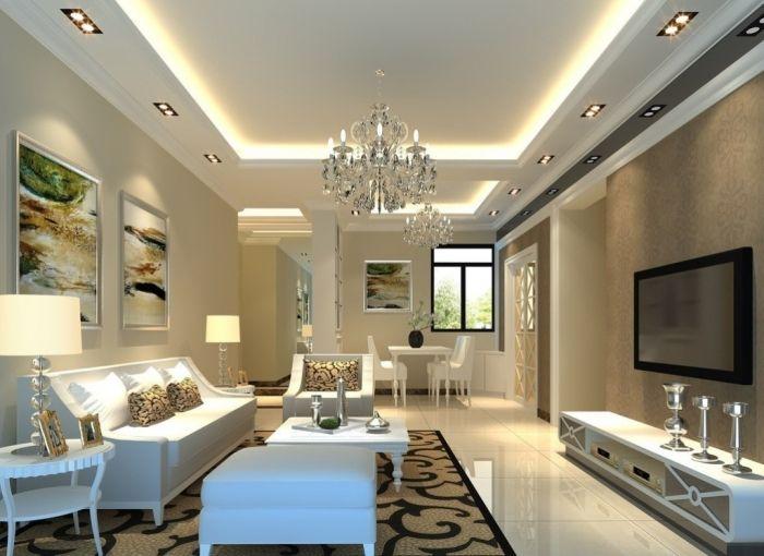 46 Dazzling Catchy Ceiling Design Ideas 2015