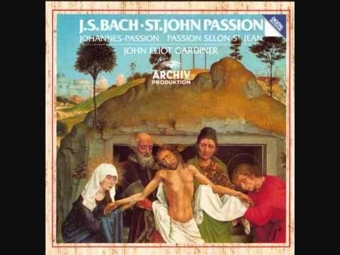 ▶ Johannes-Passion, BWV 245 - Parte II (Grablegung) - XXXV. Aria (soprano): Zerfließe, mein Herze - YouTube