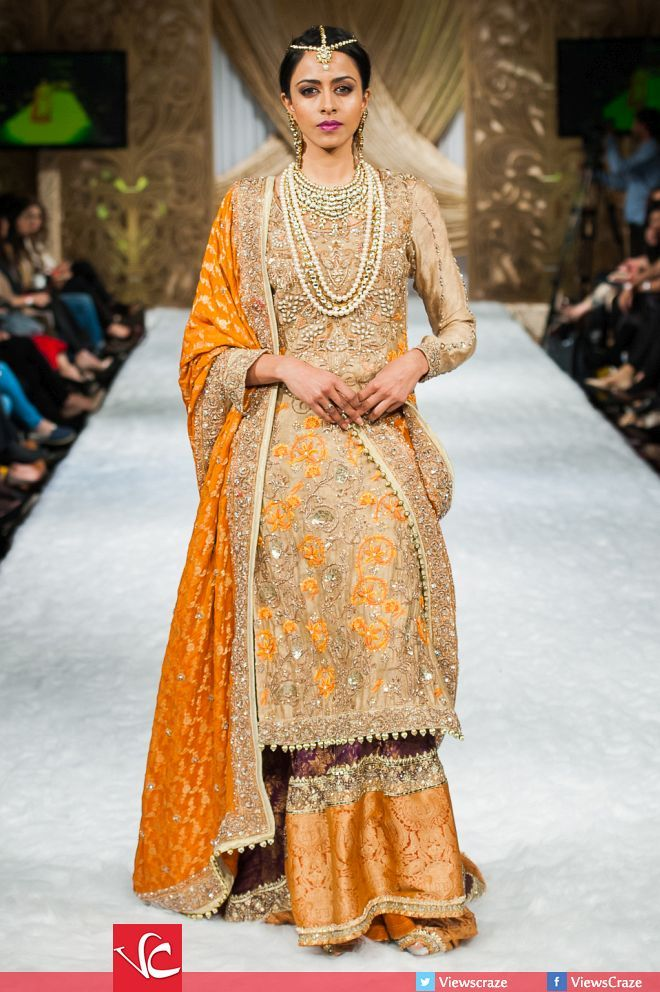 Kamdani's Collection at Pakistan Fashion Week 7 London ...