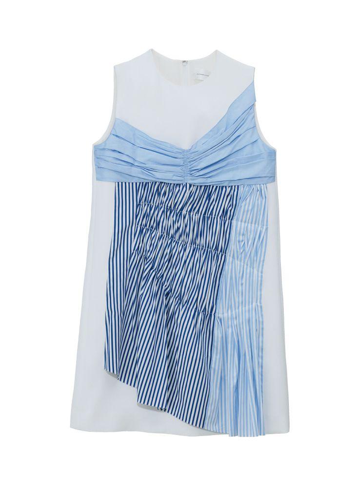 <Stripe Mania>ストライプシャツブーム到来!ドレスやボトムまで登場