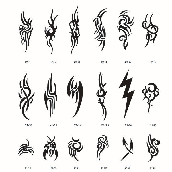 Free Tattoo Tribal Download Free Clip Art 0 4