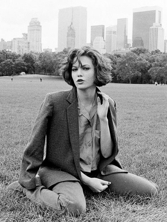 #TBT: Diane Lane Makes Us Long For a Menswear-Inspired Wardrobe via @WhoWhatWear