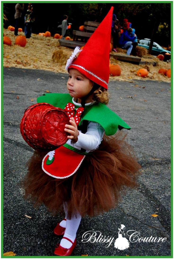 Santa's Helper Elf Tutu Outfit Set Halloween Costume by www.BlissyCouture.com Garden Gnome