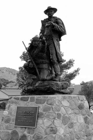 Interested in military history? Learn more about historic Fort Hauchuca and the Apache Scouts here: http://huachuca-www.army.mil/files/History_ApacheScouts.pdf