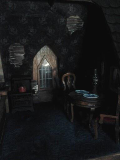 Haunted Dollhouse By Miss Crumplebottom Haunted Dollhouse