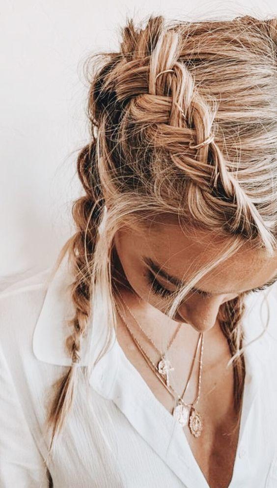 pinterest: aashlynwiswall Inspiration für Haare und Make-up vom Alltag bis …   – H&M