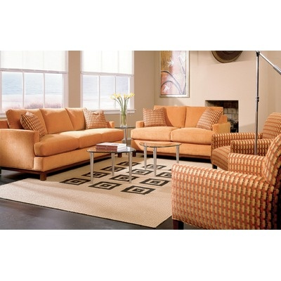 Rowe Furniture Sullivan Mini Mod Apartment Sofa And Loveseat $2730