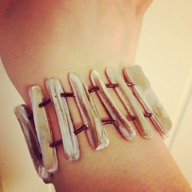 #diy  #bracelet  #armcandy  #diybracelet :)
