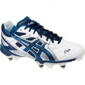 SALE - Asics Gel-Lethal Hybrid Lacrosse Cleats Mens White - Was $124.99 - SAVE $2.00. BUY Now - ONLY $122.99