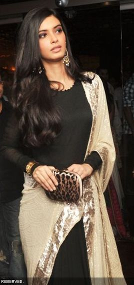 Diana penty at the cocktail movie event. Love the neckline
