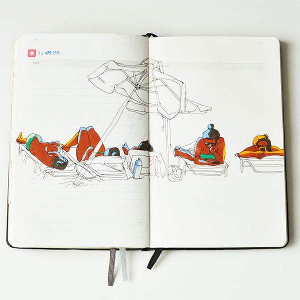 Cyprus travelbook on Behance