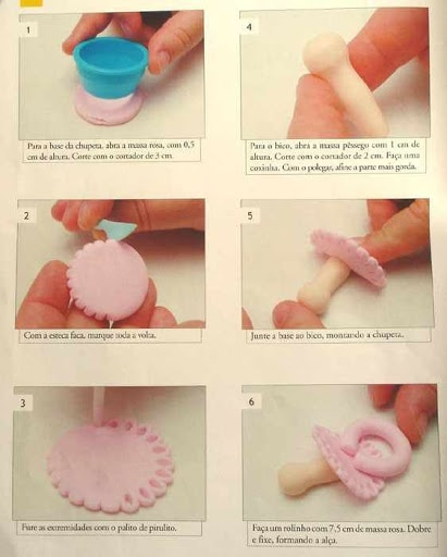 STEP BY STEP PART N°1 Pacifier #Baby #shower #planning