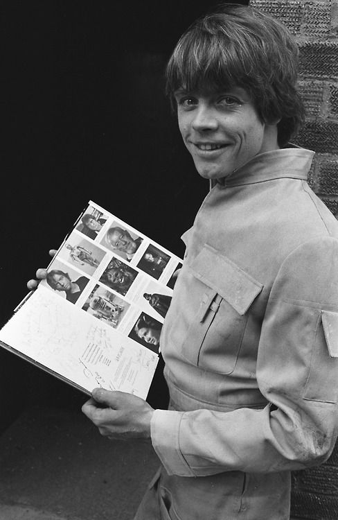 "Star Wars, Empire Strikes Back and Return of the Jedi, ""Luke Skywalker""  - Mark Hamill   ..."