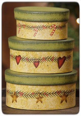 Nesting Boxes - Christmas Garlands