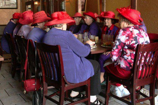 """""""When I am an old woman I shall wear purple 