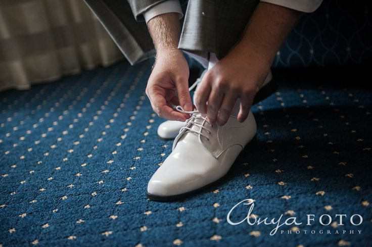 Groom's Shoes anyafoto.com #wedding, groom, men's fashion, white groom's shoes