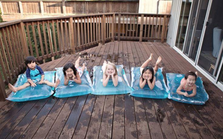 Des coussins d'eau magiques à faire à la maison ! Ca va faire plaisir aux enfants...