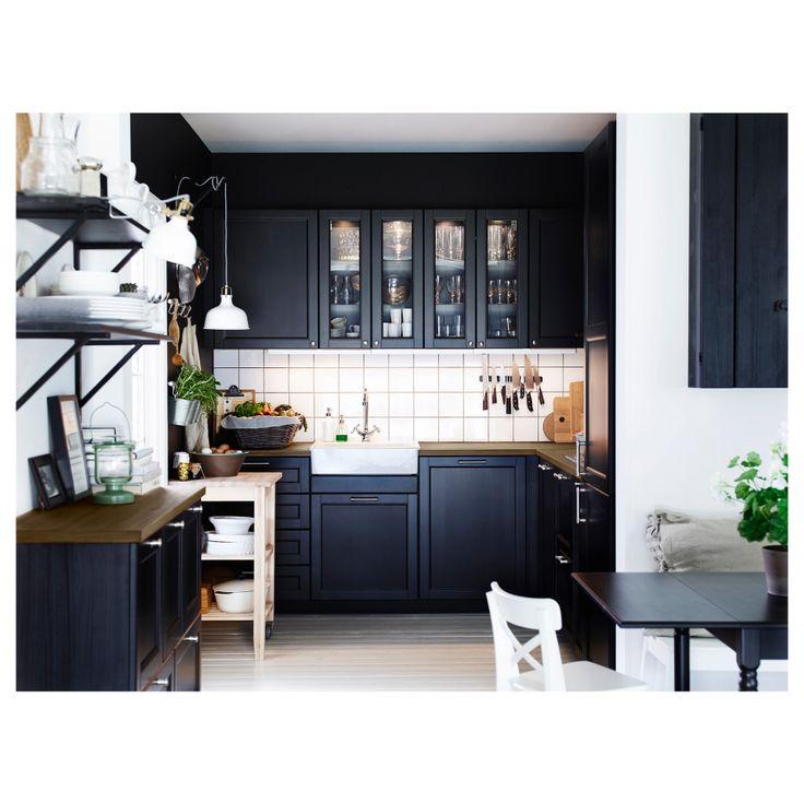 Uncategorized:Awesome  Cuisine Ikea Laxarby Davaus Avis Cuisine Ikea Laxar Noir Avec Des Ides Fraîche Cuisine Ikea Laxarby