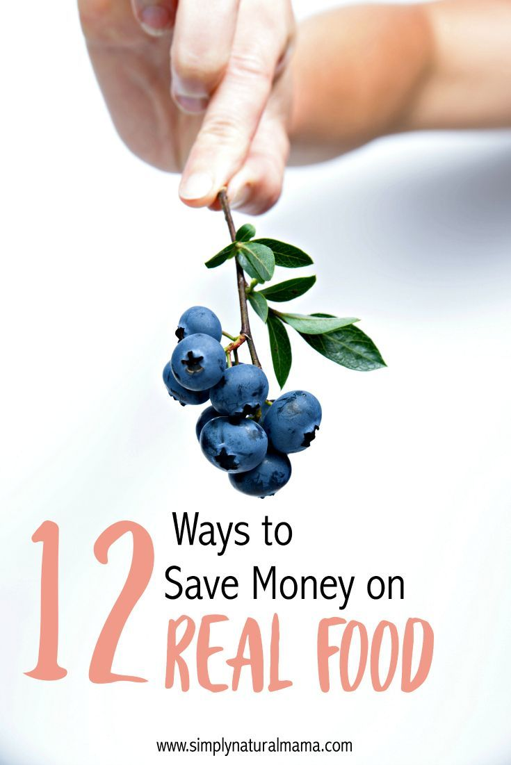 Here are 12 unique ways to save on REAL food