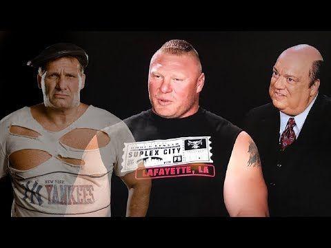 Brooklyn Brawler Shoots on Brock Lesnar, Paul Heyman and MMA - YouTube
