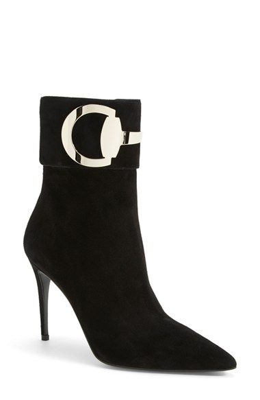 Gucci 'Rooney' Pointy Toe Bootie (Women) available at #Nordstrom