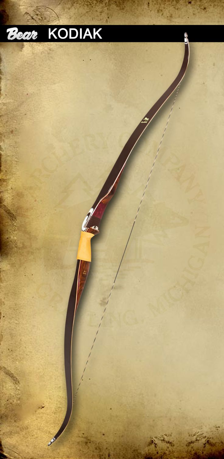 Bear Archery - Kodiak traditional bow