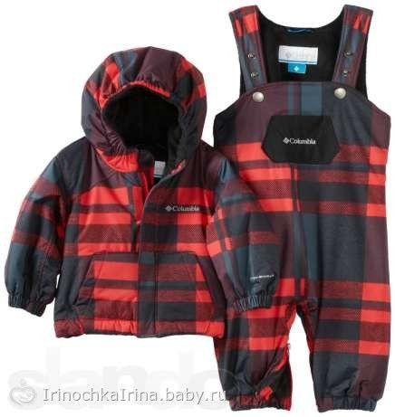 Зимняя детская одежда, Зимний комбинезон, термоодежда