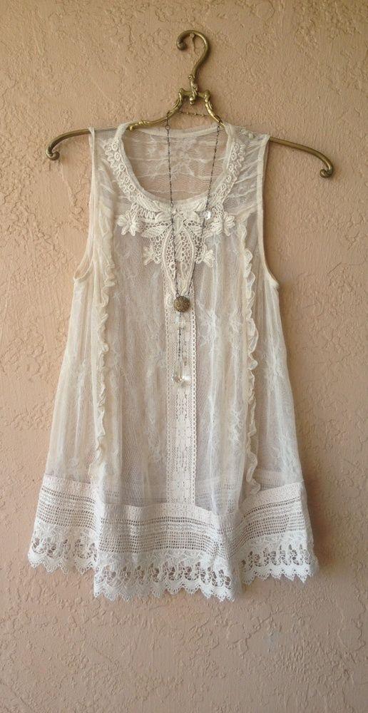 size 4 gypsy lace tunic: