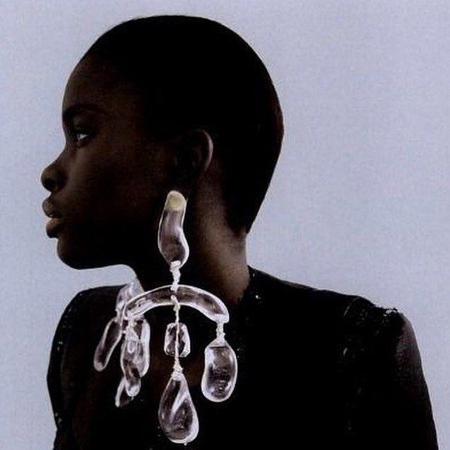// earrings / @anothermagazine 2010