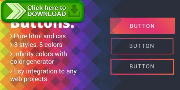 [ThemeForest]Free nulled download Gradient Buttons from http://zippyfile.download/f.php?id=44764 Tags: ecommerce, buttons, color generator, css buttons, CSS gradients, gradient