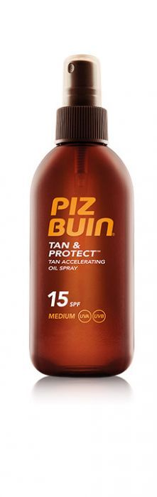Piz Buin Tan & Protect Aceite Spray Acelerador Bronceado SPF 15 150Ml en Farmacompany.com