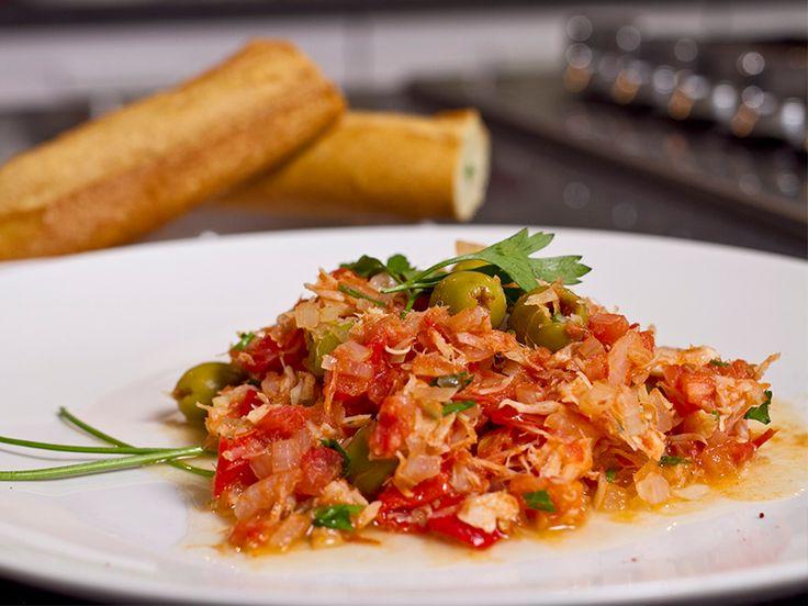 Meksika –Bacalao; Acı, kurutulmuş mezgit balığı.