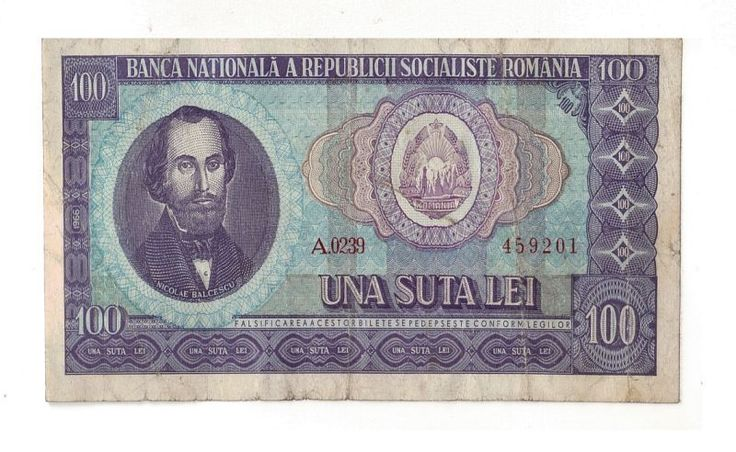 Romania Socialist 100 Lei 1966 Bancnote Circulated | eBay