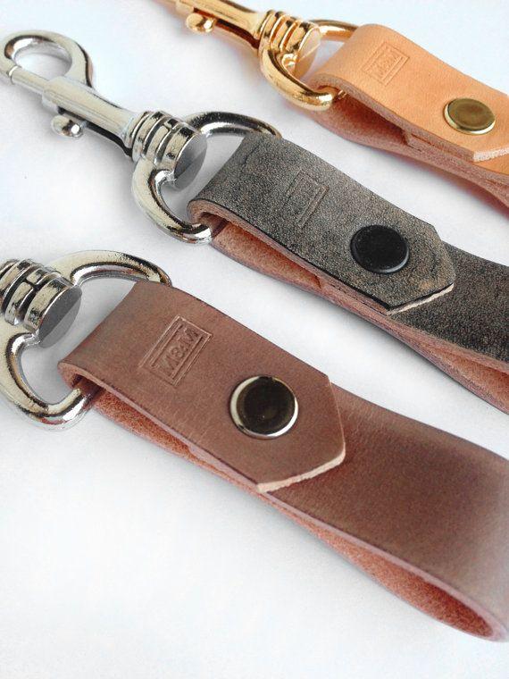 Morgan & Marley Leather Keyring by morganandmarley on Etsy