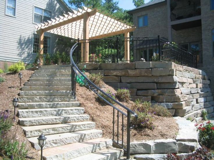 Best Outdoor Stair Railing Image Types Of Outdoor Stair 640 x 480
