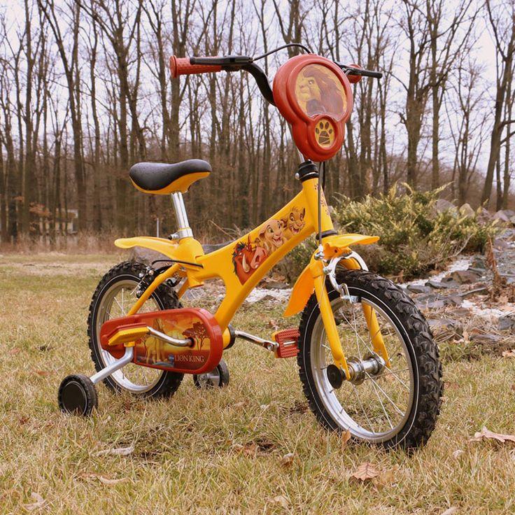 Bicicleta pentru copii Lion King
