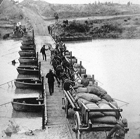 Brug oor die Modder rivier in 1900