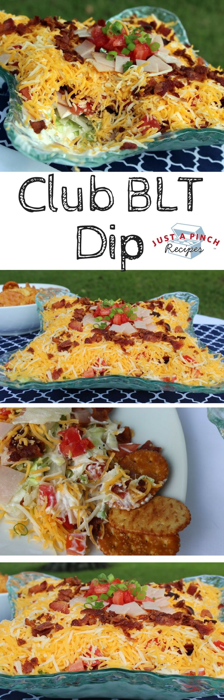 This is so easy yet gets rave reviews. I wanted to mock a club sandwich in a dip…